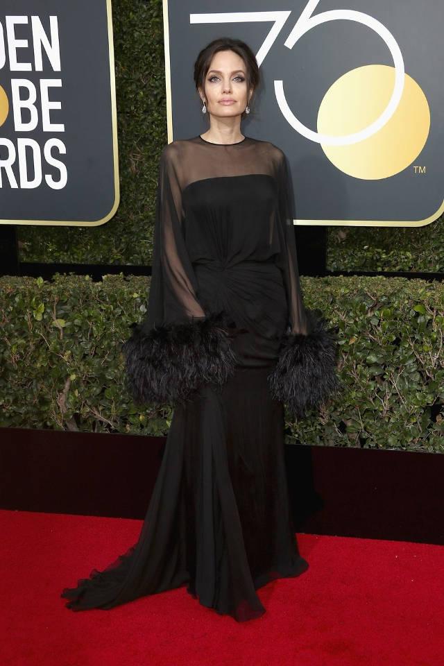Parada de rochii negre la Golden Globes 2018. Care a fost cea mai frumoasa? 6