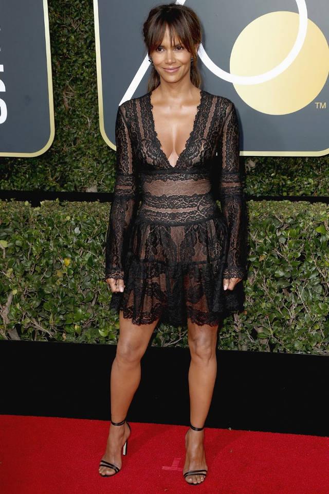 Parada de rochii negre la Golden Globes 2018. Care a fost cea mai frumoasa? 3