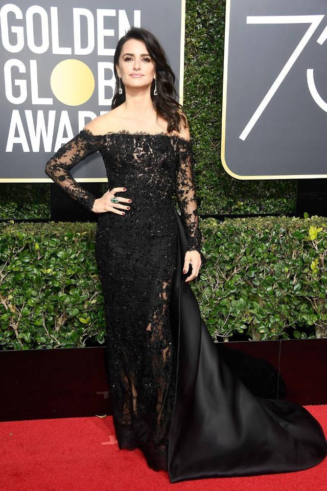 Parada de rochii negre la Golden Globes 2018. Care a fost cea mai frumoasa? 4